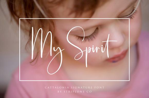Cattalonia Handwritten Signature Font