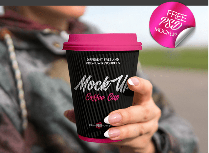 Coffee Cup PSD MockUp Free Template
