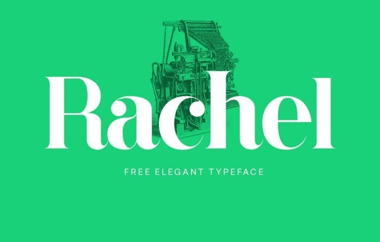 Rachel Serif Display Fonts
