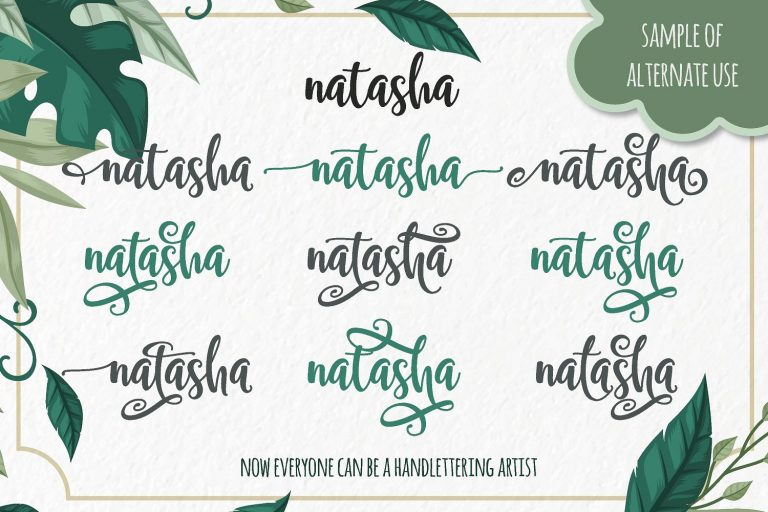 Samellya Free Brush Script Typeface