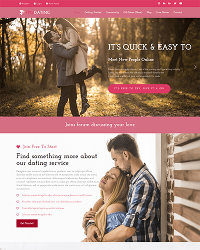 TPG Dating – Responsive WordPress Dating theme