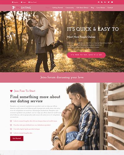 TPG Dating – Responsive WordPress Dating theme