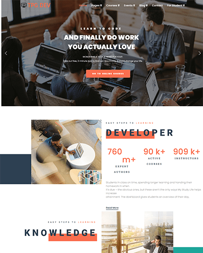 TPG Dev – Responsive WordPress Developer Theme