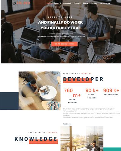TPG Dev – Responsive WordPress Developer Theme