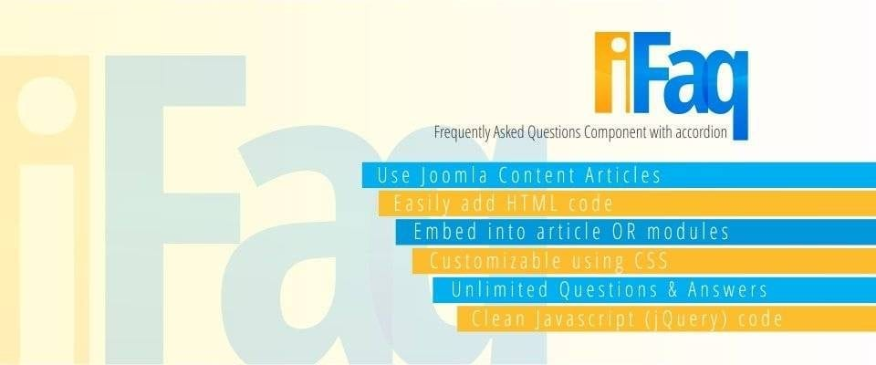 Collection Of 6 Best Joomla FAQ Extension In 2019