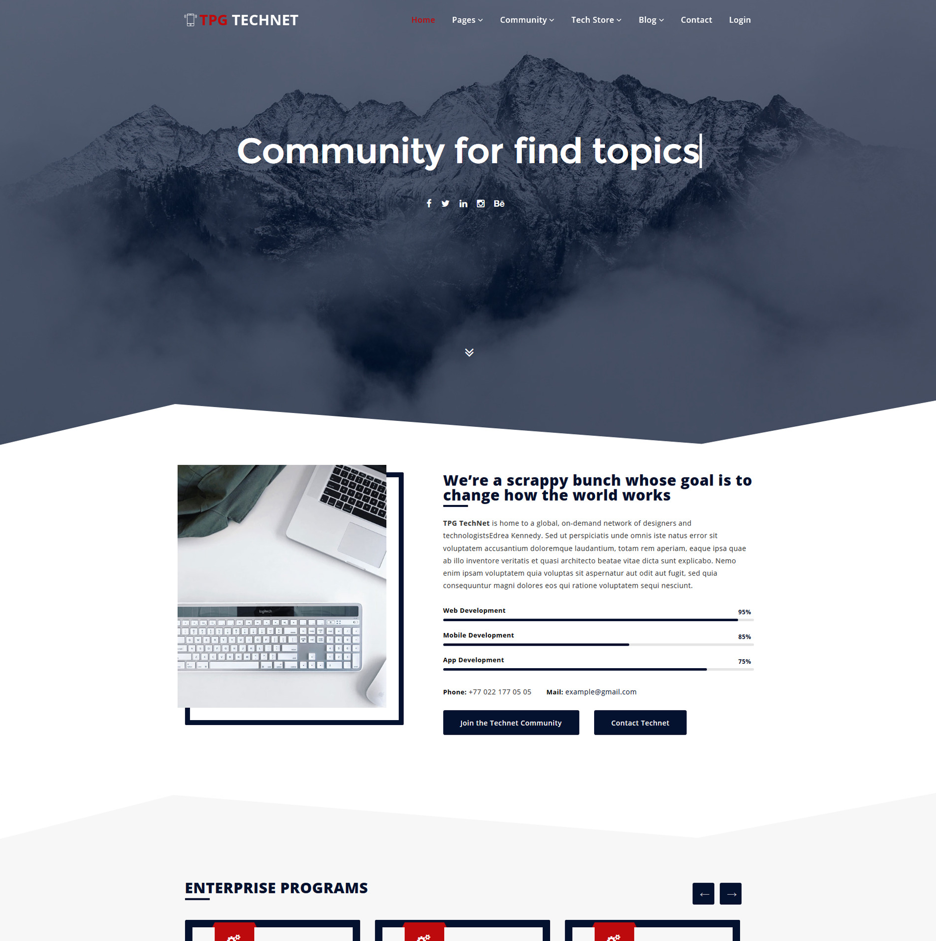 TPG Technet – Best Technology WordPress theme
