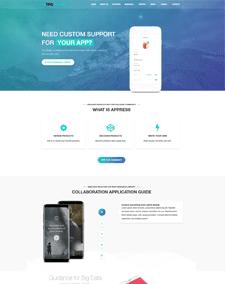 TPG Appress – Responsive WordPress App theme
