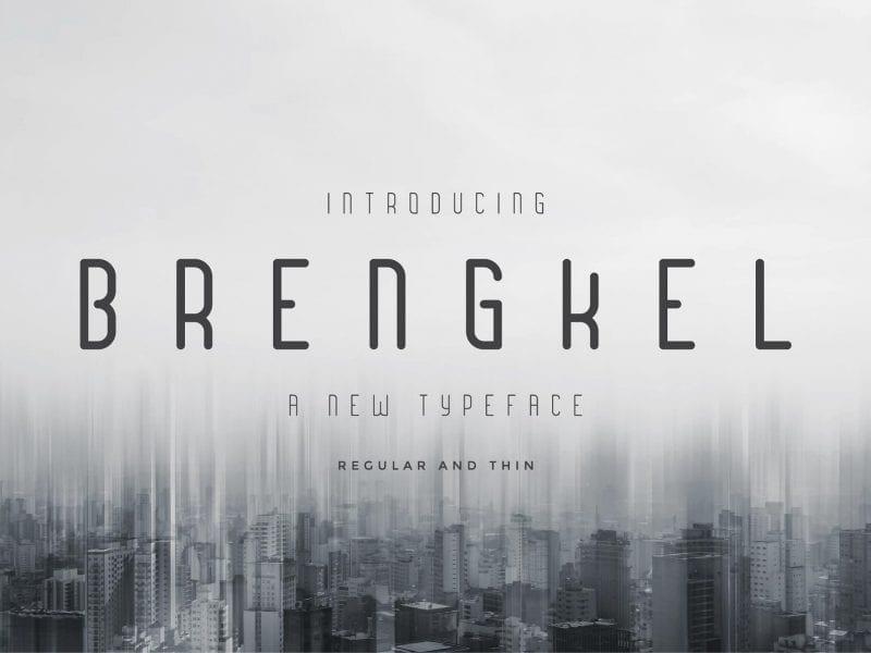 Brengkel Elegant Serif Typeface