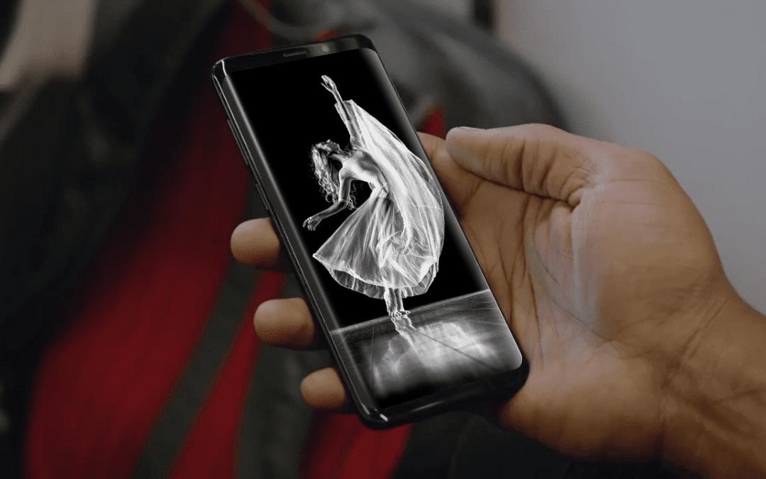 Samsung Galaxy S9 Mockup PSD Template