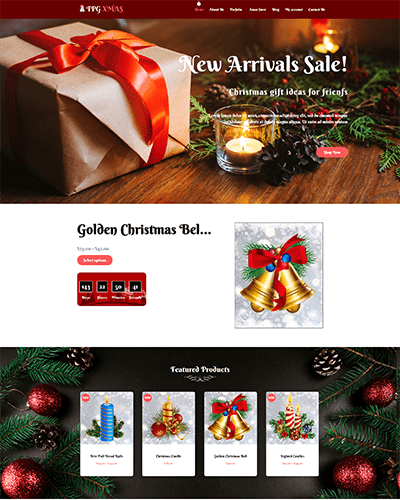 TPG Xmas – Responsive WordPress Christmas Theme