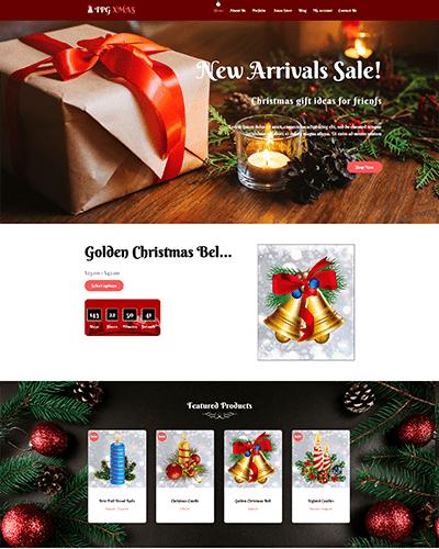 TPG Xmas – Responsive WordPress Christmas Theme