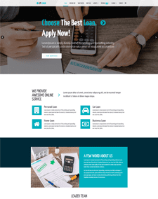 LT Loan Onepage – Free Single Page Business Joomla template