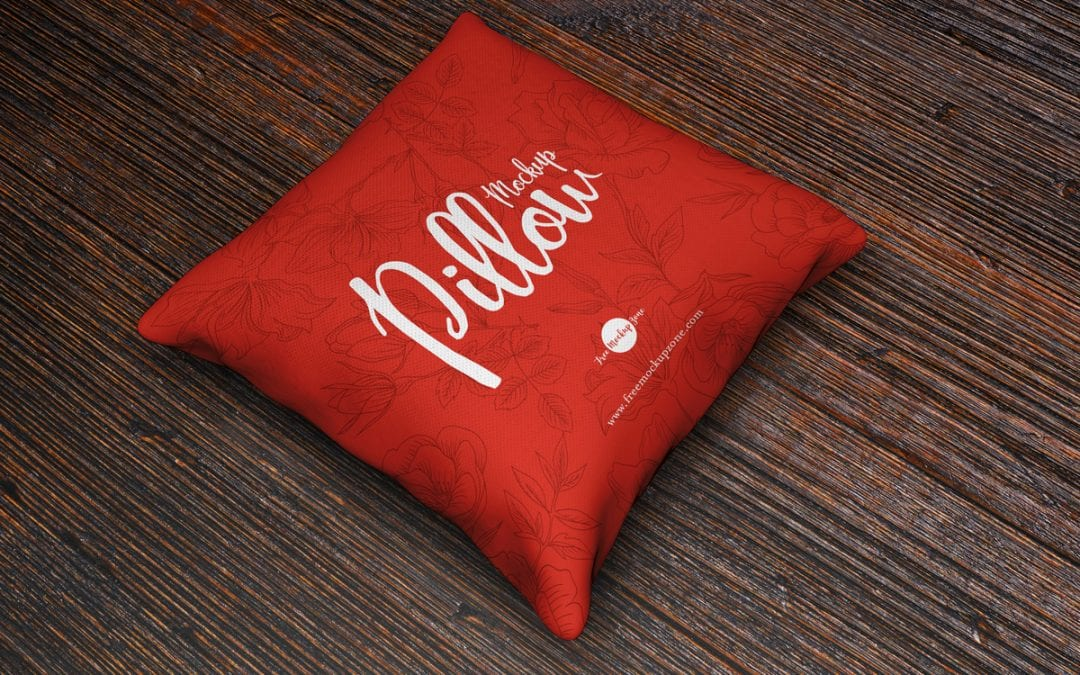Brand Pillow MockUp PSD Free Template