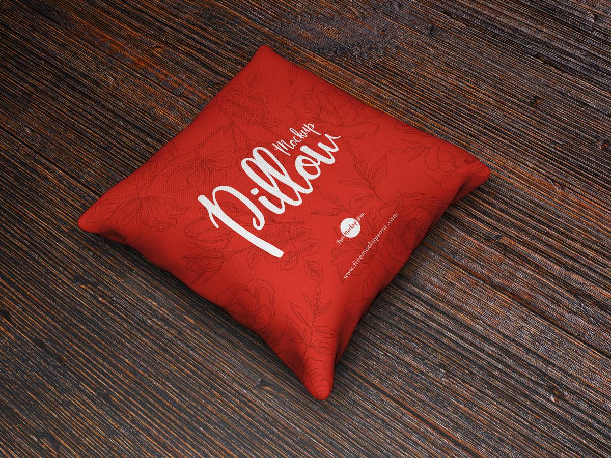 Brand Pillow MockUp PSD Free Template
