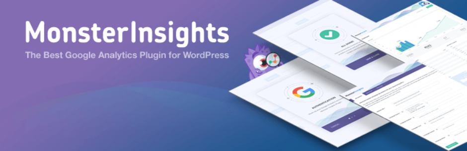 1. Google Analytics Dashboard Plugin for WordPress by MonsterInsights