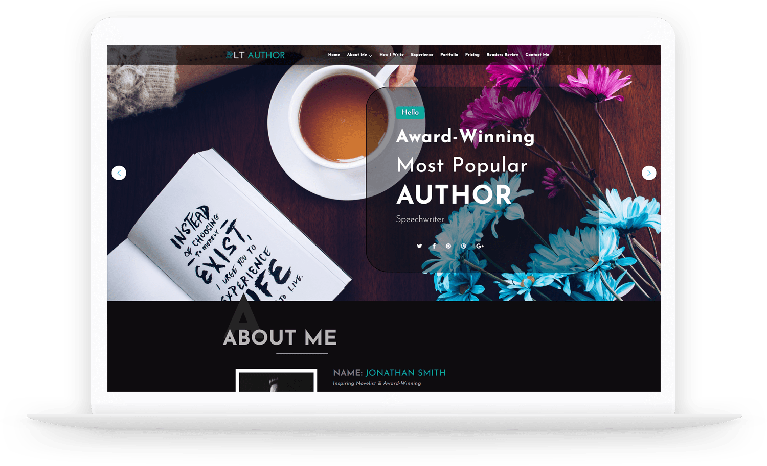 LT-Author-wordpress-theme