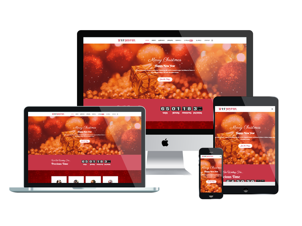 LT Joyful - Free Joomla Christmas Party template