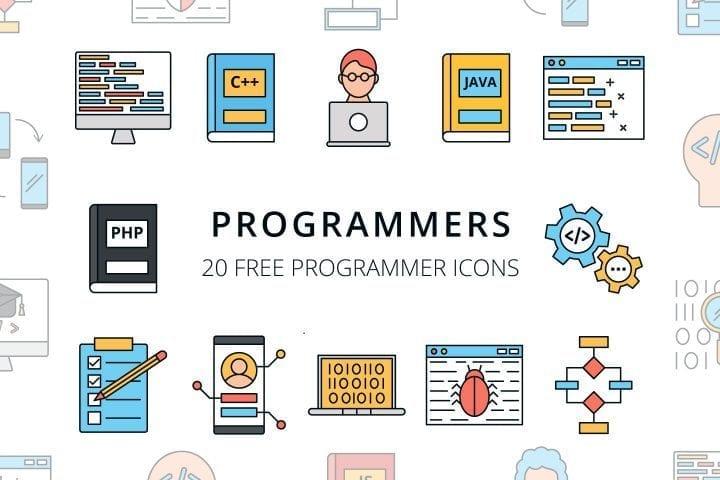 Set Of 20 High-quality Program Icon Vector