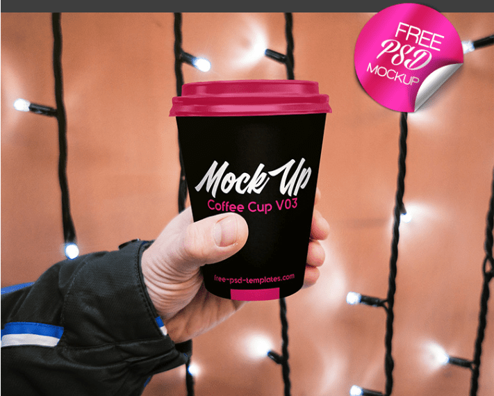 Amazing Coffee Cup PSD MockUp Template