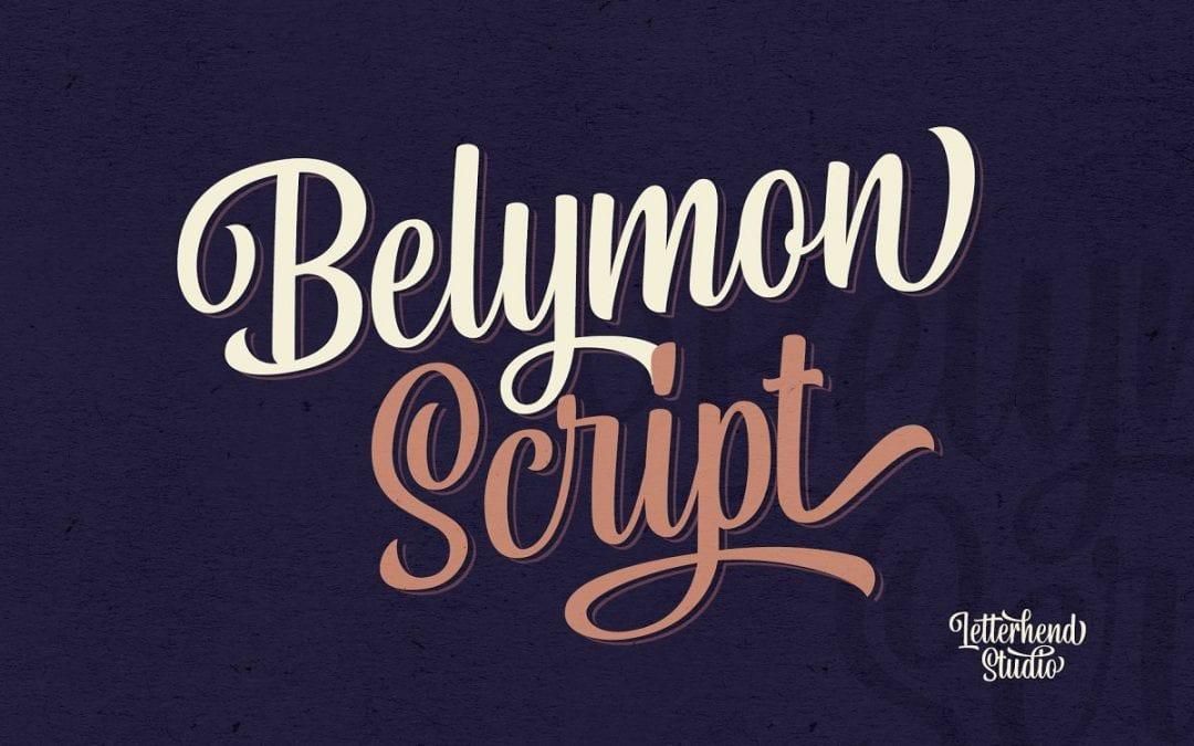 Belymon Calligraphy Script Font