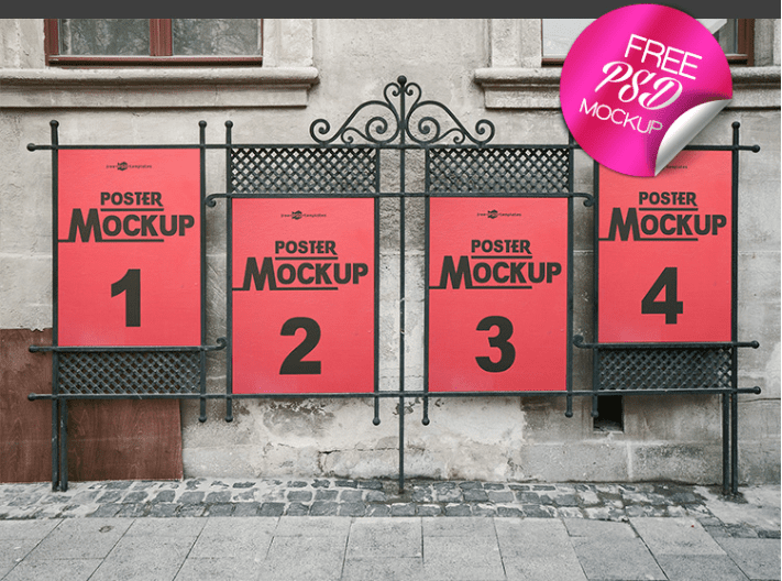 Flyer / Poster MockUp PSD Template
