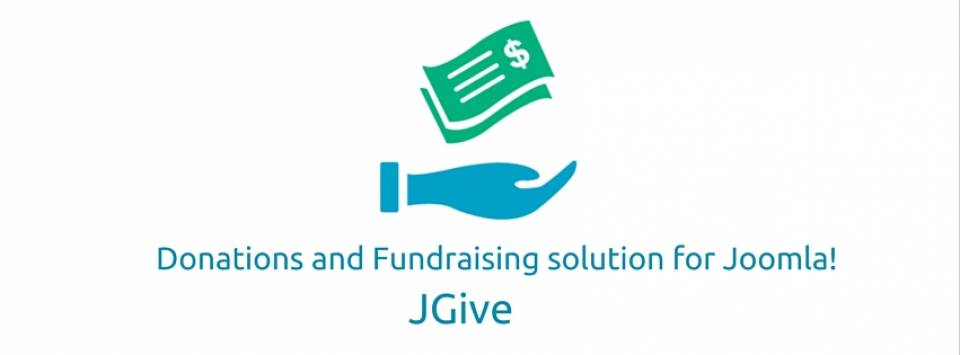 jGive joomla donation extension