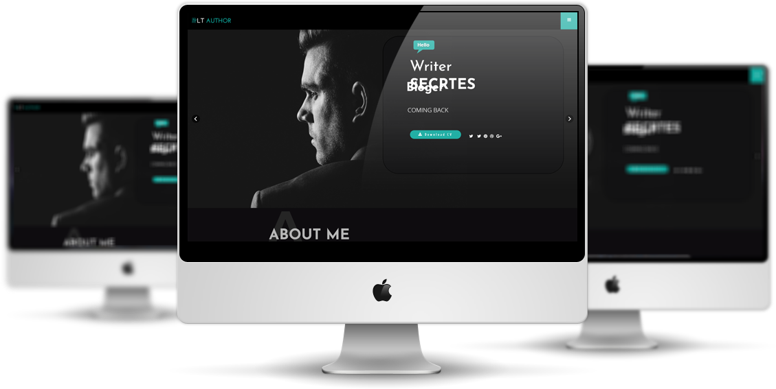LT Author - Responsive Writer Joomla Template