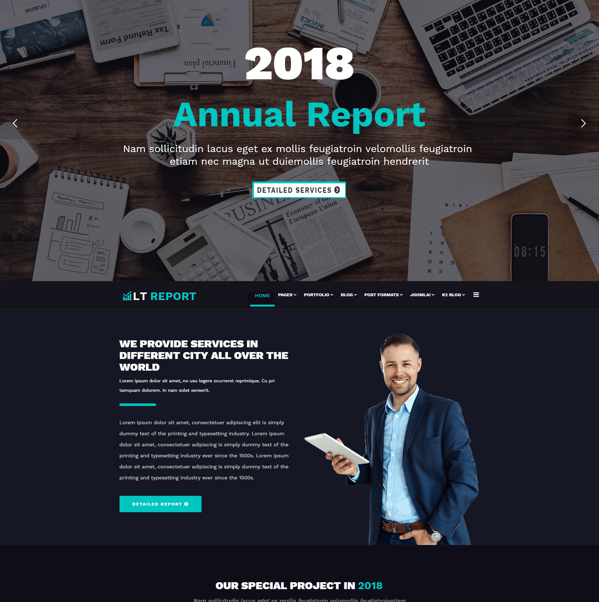 lt-report-free-wordpress-theme