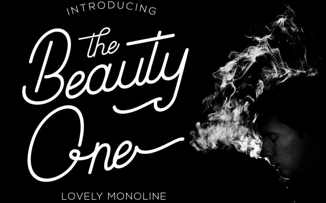 Beauty One Modern Calligraphy Script Font