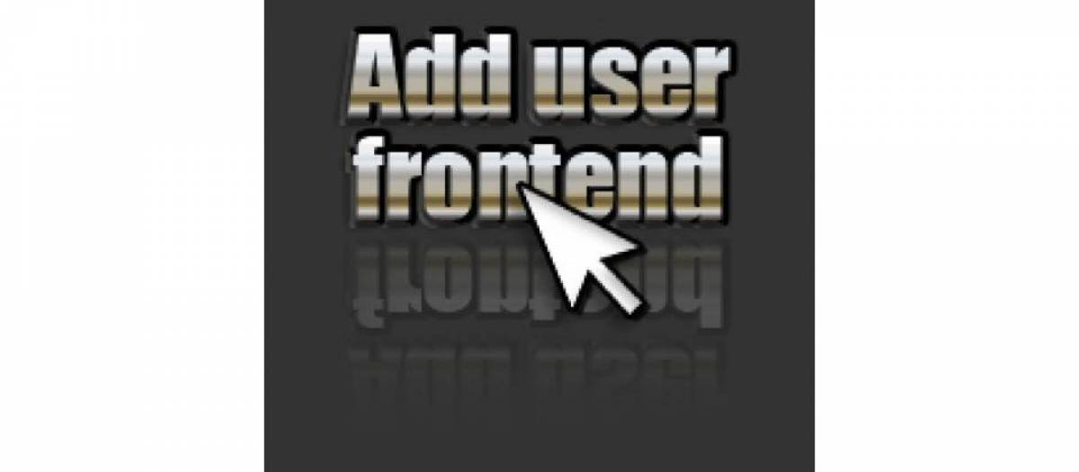 Add user Frontend