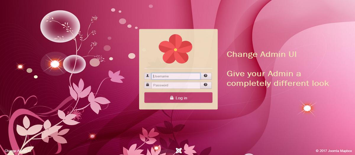Change Admin UI