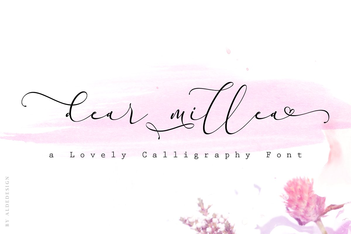 Everything Handmade Calligraphy Font 1