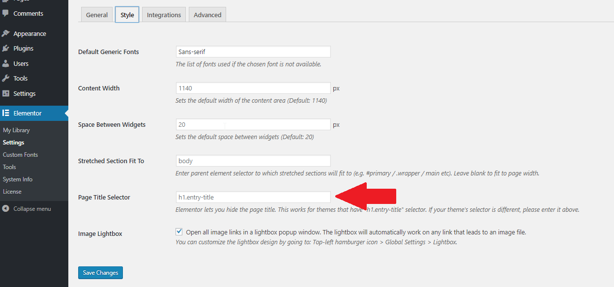 How To Hide Page Titles In WordPress 3