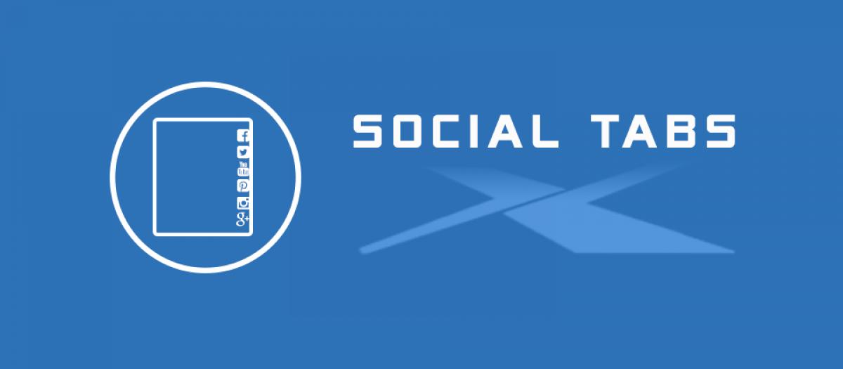 JUX Social Tabs