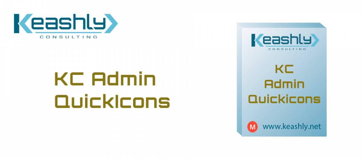 KC Admin QuickIcons