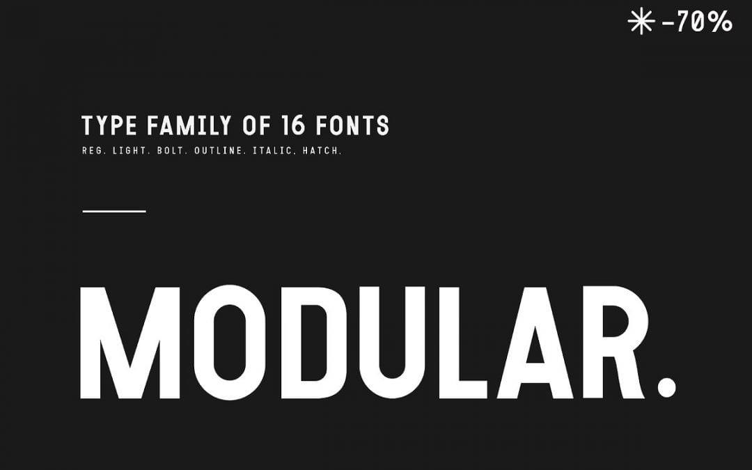 Modular – Elegant Sans Serif Typeface