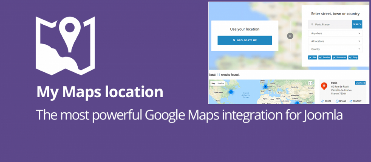 My Maps location
