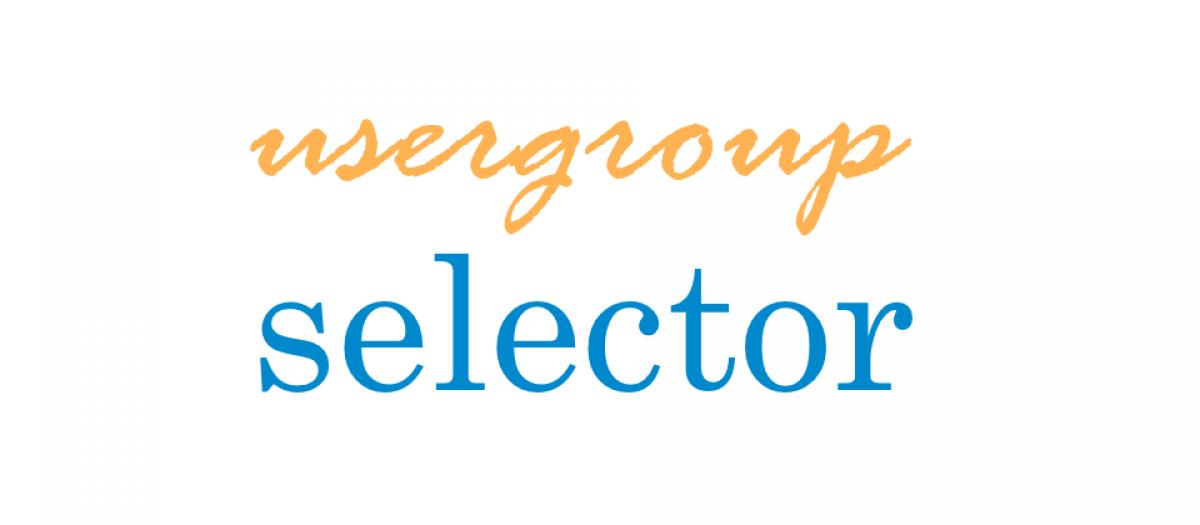 Usergroup Selector