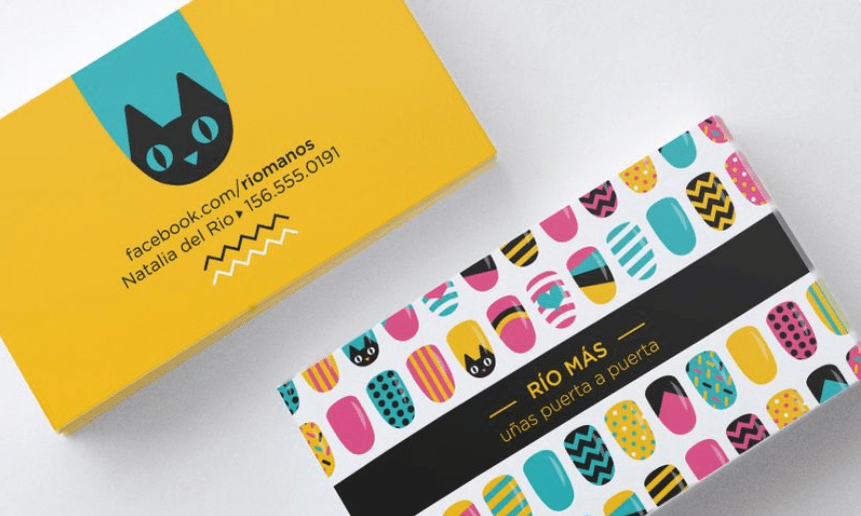 20+ Impressive Typoraphy Business Card Idea
