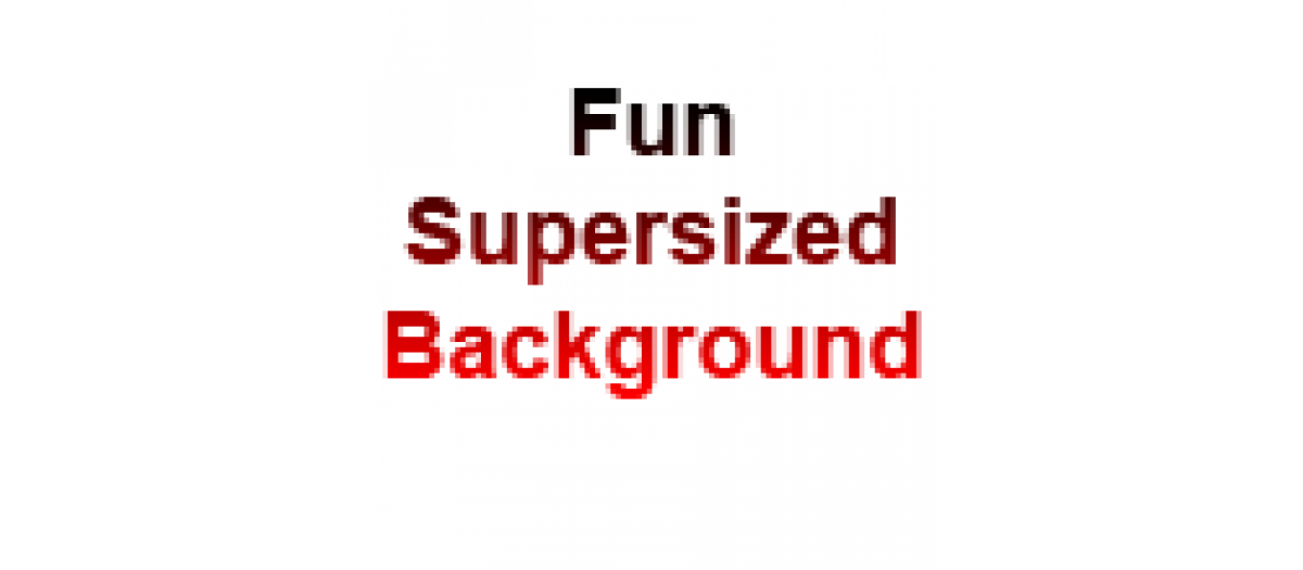 Fun Supersized