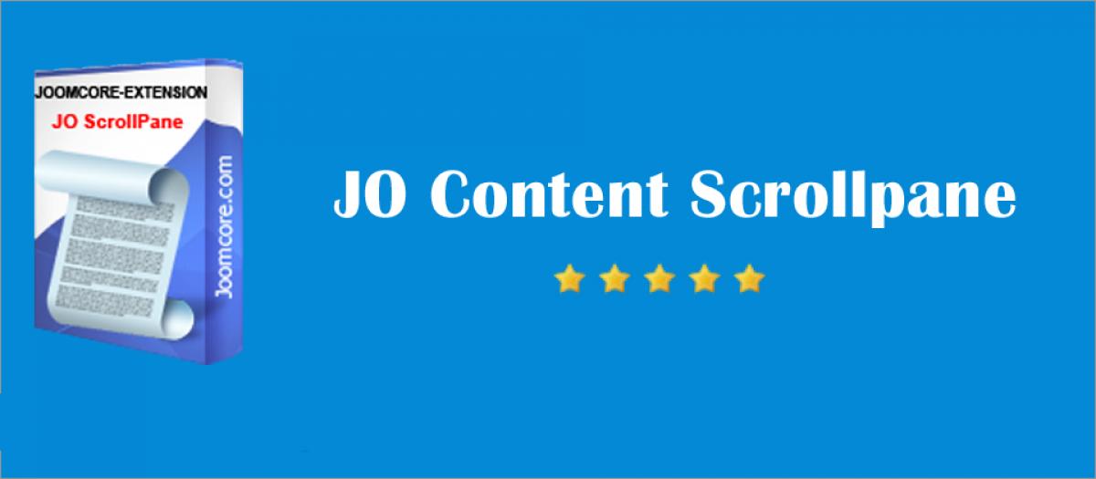 JO Content Scrollpane