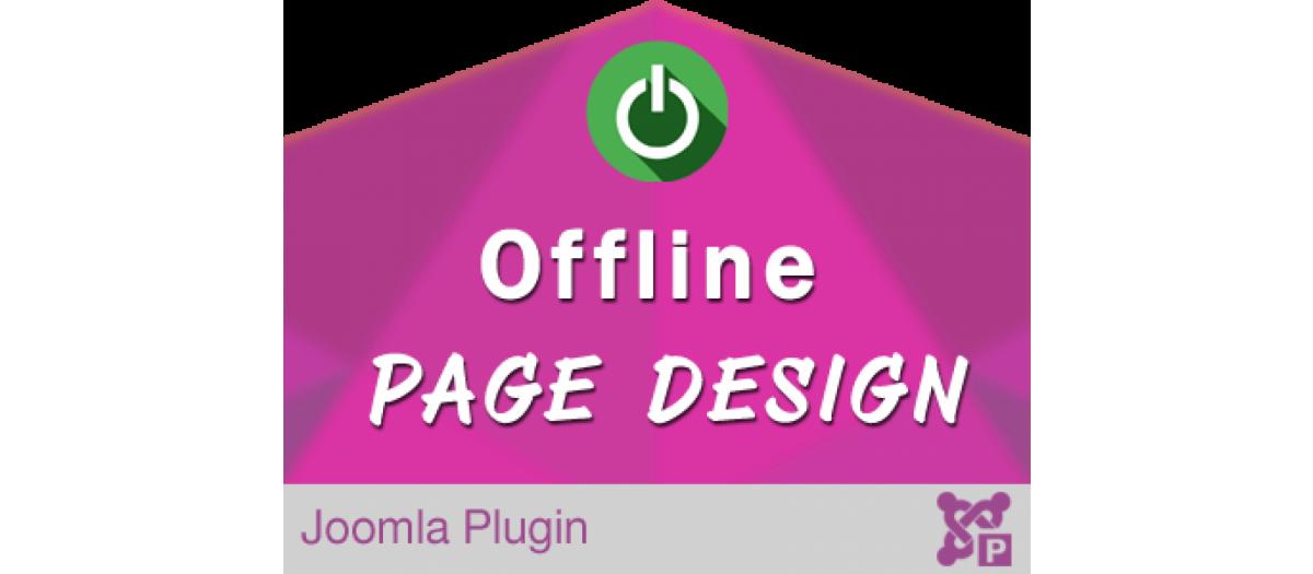 Offline Page Design for Joomla