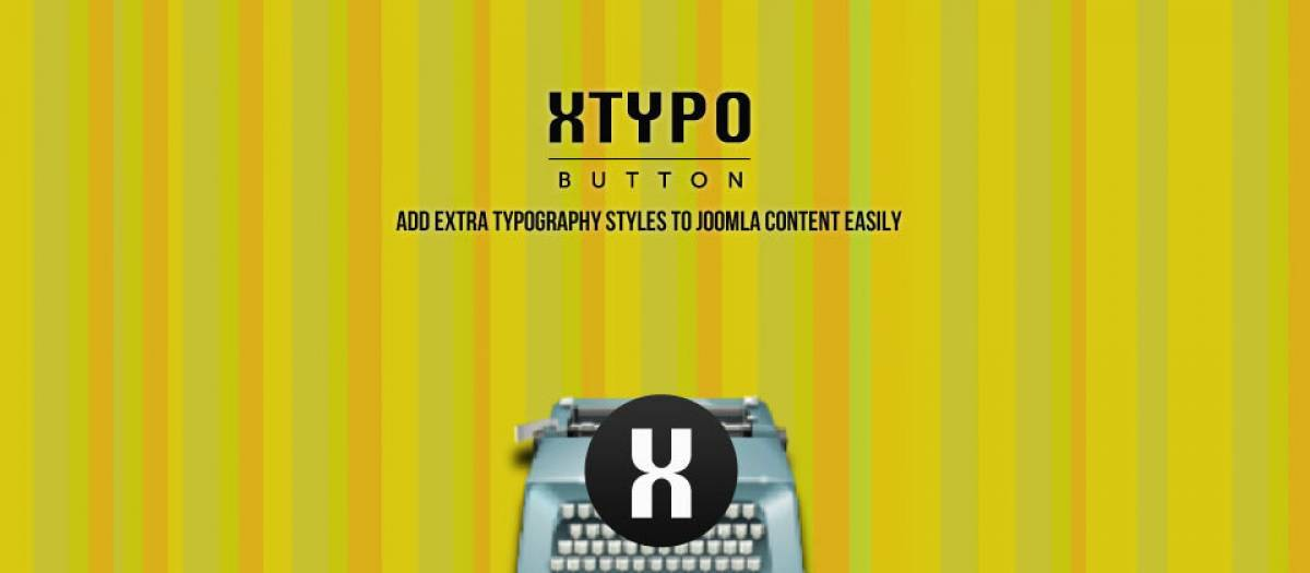 Xtypo Button