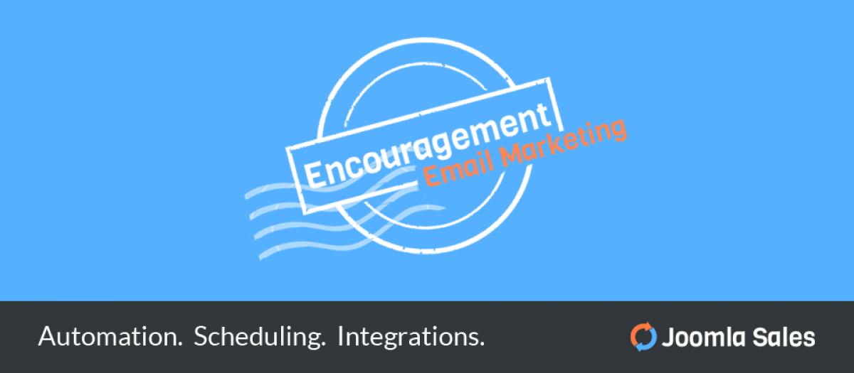 Encouragement Email Marketing