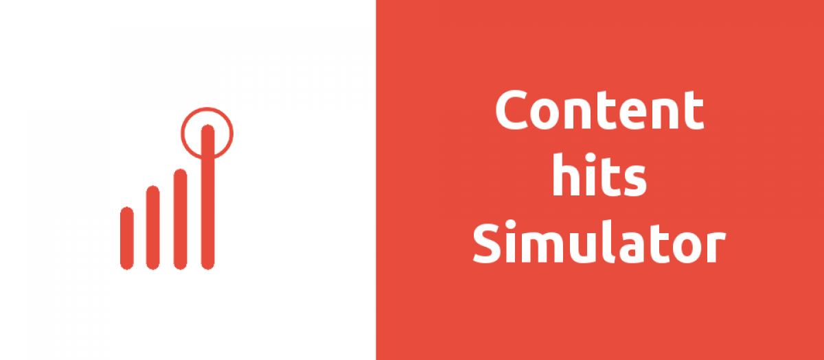 JExtBOX Content Hits Simulator