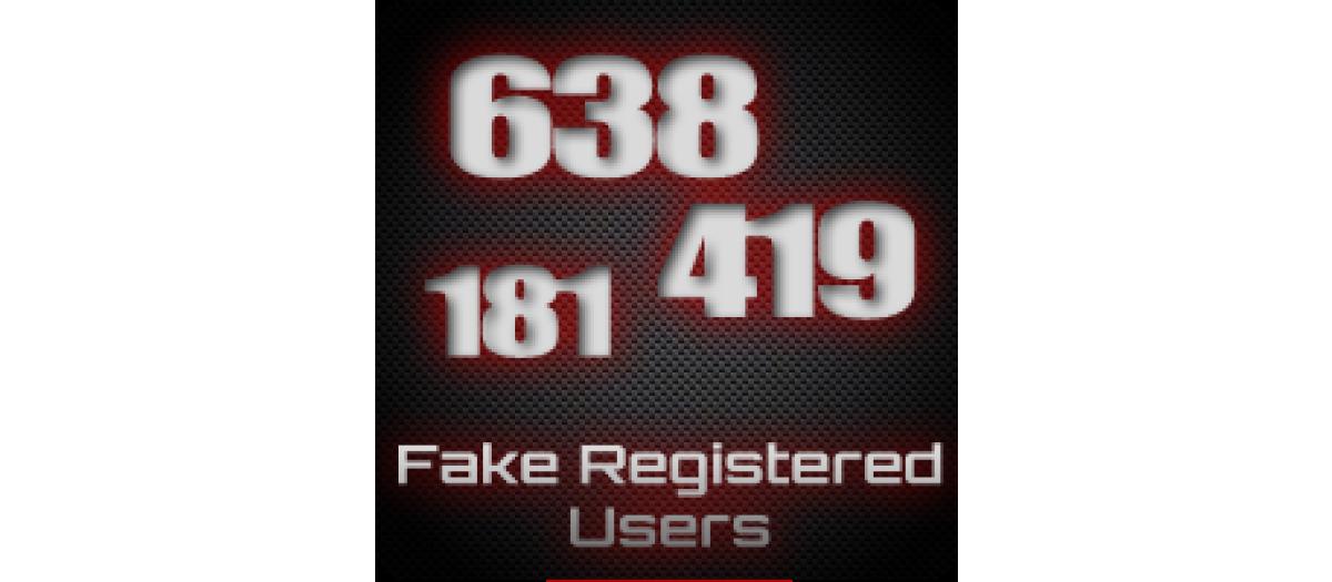JJ Fake Registered Users