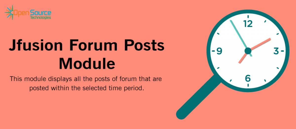 Jfusion Forum Posts