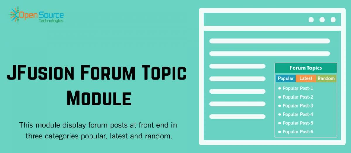 Jfusion Forum Topic