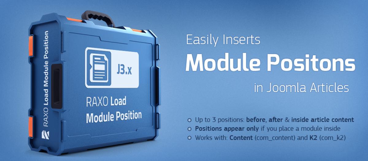 RAXO Load Module Position