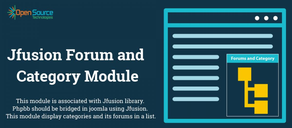Jfusion Forum and Category